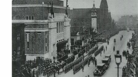 1936 King George VI reopens new People's Palace
