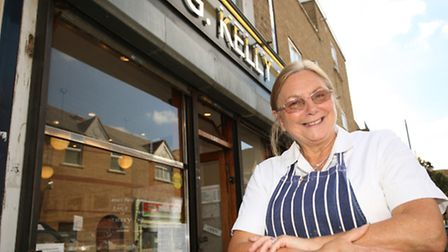 Meg Bradley is retiring after 40 years working at G Kelly.