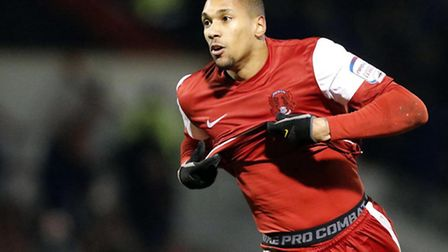 Shaun Batt fired a hat-trick for Orient at Gillingham (Pic: Simon O'Connor)