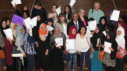 Central Foundation star puils celebrate their A-level results