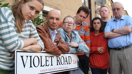 Furious professionaks and residents angry at the 'rogue' street sign in Morris Road: Isabella Cant-K