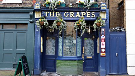 The Grapes pub in Limehouse.