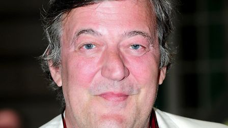 Stephen Fry who met the prime minister at The Grapes in Limehouse to discuss gay rights in Russia