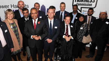 Giles Fraser at the launch of the Tower Hamlets Fairness Commission last year