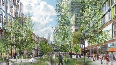 Vision of the future... Queen Mary's new 'Med City' planned at Whitechapel