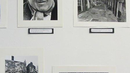 Pictures at an exhibition... in aid of Bethnal Green's 1943 wartime disaster memorial