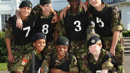 Archery winners on target... Cadets from Mile End's 24 Detachment Army Cadet Force