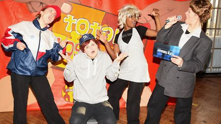 East London educational theatre champions Chain Reaction performs for children at Chisenhale Primary