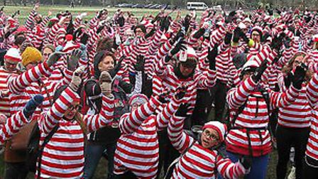 Thousands dressed as Where�s Wally will descend on Victoria Park