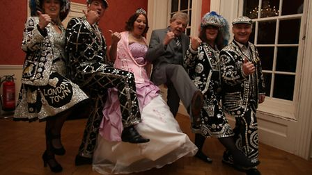 Lorraine and Terry's wedding was the perfect excuse for a knees-up