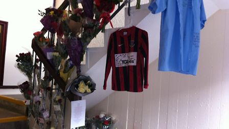 Tributes have been pouring in for Charlie Paterson at the tower block where he was found dead