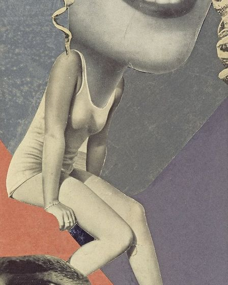 F�r ein Fest gemacht (Made for a Party) by Hannah Hoch