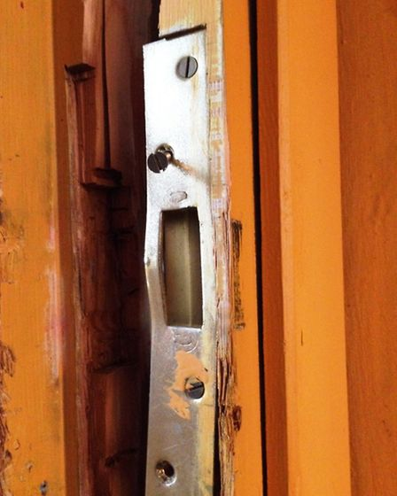 Every single door was smashed open at The Arbour