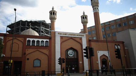 The East London Mosque in Whitechapel