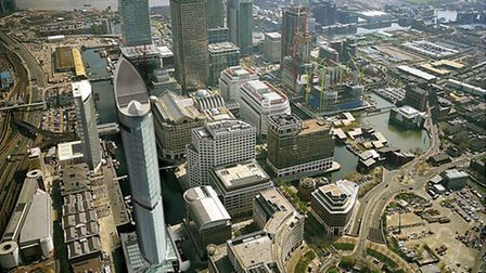 Canary Wharf's early development was spearheaded by Docklands Development Corp when Ralph Ward was o