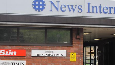 Entrance to News International's once-notorious 'Fortress Wapping'