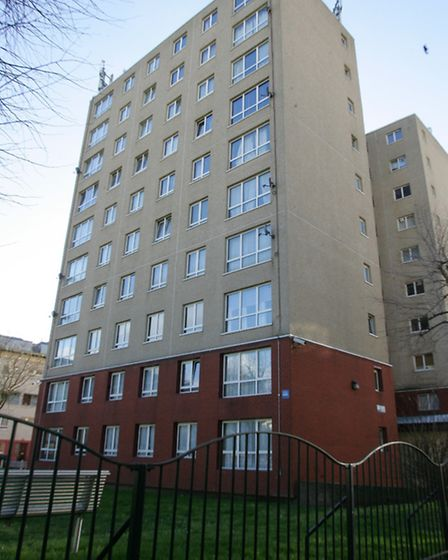 Kedge House flats have a problem with rats