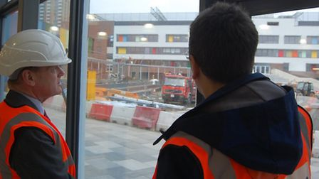 Bow School's new site nearing completion, catering for increased population