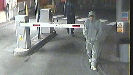 CCTV image showing the suspects