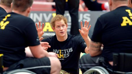 Prince Harry announced plans for the Invictus Games for injured service personel