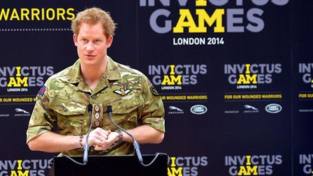 The Prince was announced patron of the Walking With The Wounded South Pole Allied challenge last yea