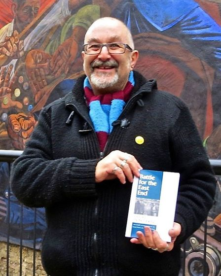 Author David Rosenberg in the East End