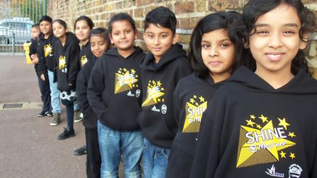 Kids queue up to go to Marner Primary's Saturday classes