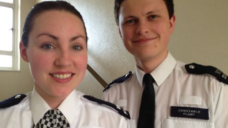 Pc Anna Moon and Pc Lee Plant