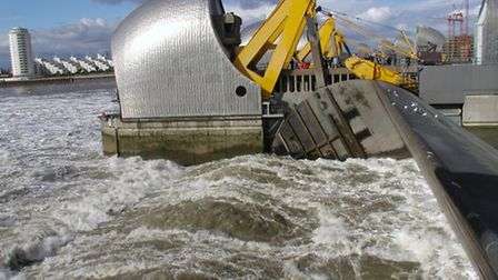Thames Barrier... reaching its limit