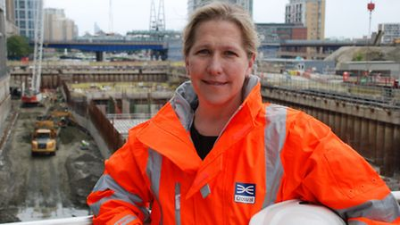 Crossrail project manager Linda Miller