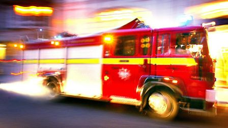 58 firefighters tackled the blaze for three hours