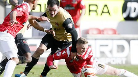 Chris Dagnall netted for Orient at Crawley (pic: Simon O'Connor)