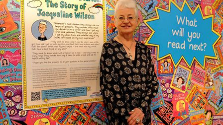 Jaqueline Wilson at The Museum of Childhood (photo: David Mirzoeff)