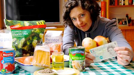 Mandy's '£1-a-day to survive' challenge