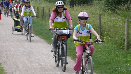 Carol Doherty will be cycling for CAFOD