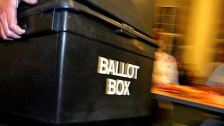 Council election results. Picture: Anthony Devlin/PA Archive