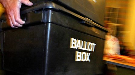 Your vote, Picture: Anthony Devlin/PA Archive