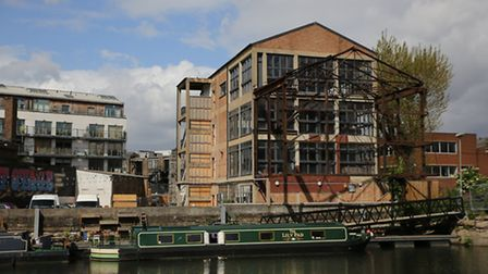 Converted Victorian warehouse by the Lea at Hackney Wick