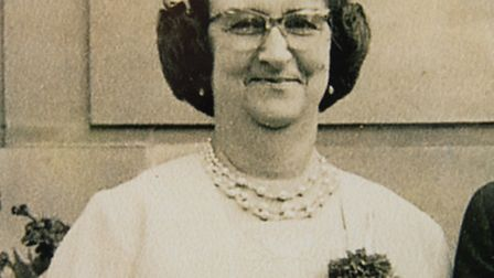 Kate Webber... killed in 1970 by hit-run driver