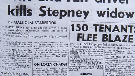 How the Advertiser reported Kate's death in July, 1970