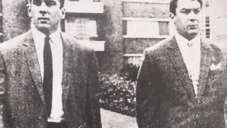 Kray twins who ruled the East End's gangland in the 1950s and 60s