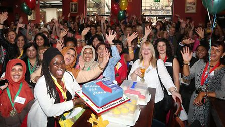 Last reunion for Tower Hamlets School for Girls, 1964-86, at the Half Moon pub