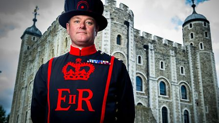 Jason Woodcock is latest Beefeater recruit to the Tower of London