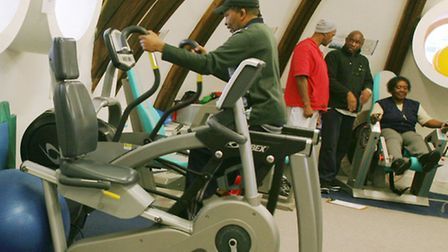 Ability Bow's therapy gym above a church in London's East End