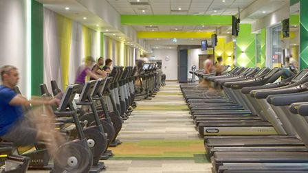 Encore Capital's refitted Reebok in Canary Wharf