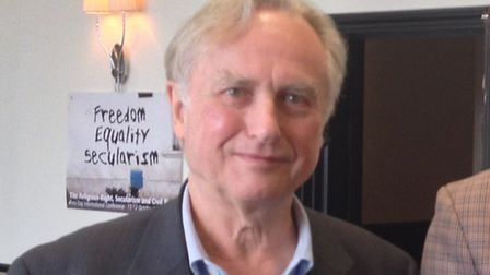 Famous atheist Richard Dawkins attended the conference