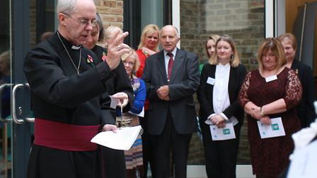 Archbishop of Canterbury blesses Mildmay Hospital's new HIV centre