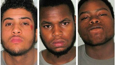 Ahmed, Samuel and Sayid were all jailed yesterday
