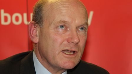 John Biggs at his 2014 launch for Tower Hamlets Mayor that he lost to Rahman