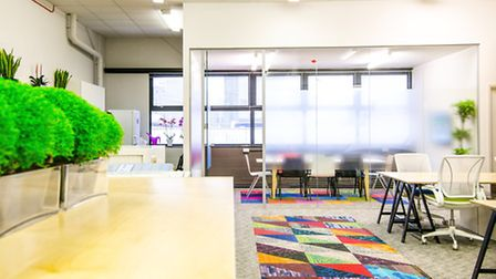 Gensler transformed the run-down office space for Tower Hamlets Foodbank (Pic by Gensler)